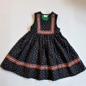VNTG Vera Bradley Quilted Holly Christmas Dress S